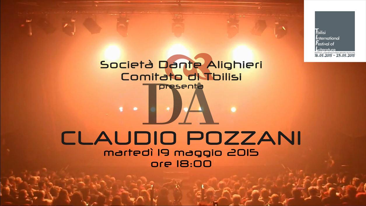 Dante, Alighieri, Pozzani, Festival, Tbilisi